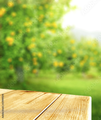 Table background and summer time