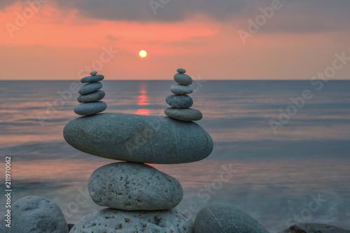 Foto op Canvas Zen relaxation, comfort and psychological pleasure concept