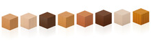 Wooden Cubes - Sample Set With...