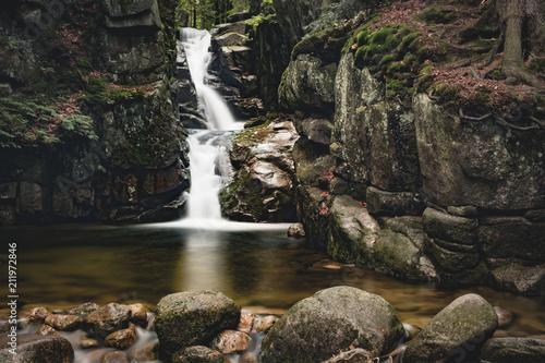 Wodospad Podgórnej, Przesieka, Karkonosze