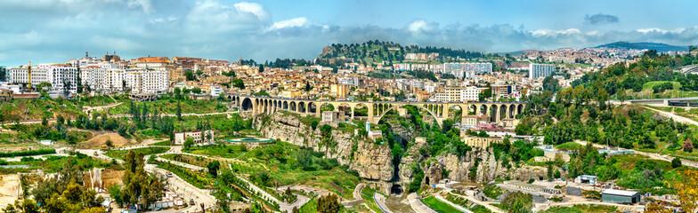 Skyline Konstantina, velikog grada u Alžiru