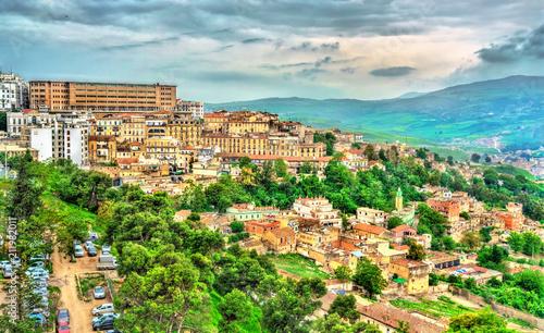 Poster Algérie Skyline of Constantine, a major city in Algeria