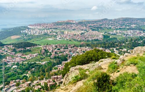 Wall Murals Algeria Skyline of Constantine, a major city in Algeria