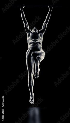 Foto op Aluminium Akt Beauty sexy body of a sportsman