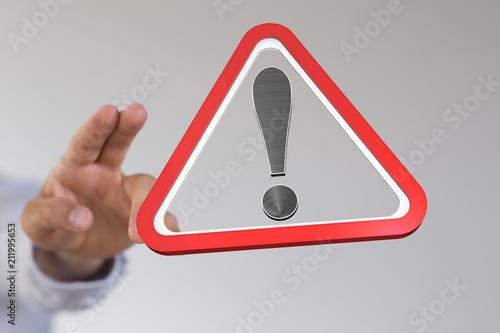 Fotografía  warning
