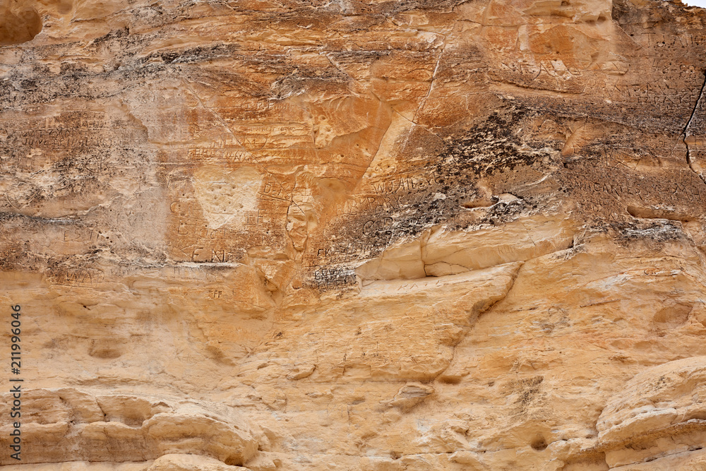 Fototapety, obrazy: Eroded Rock Formation in Castle Rock Badlands