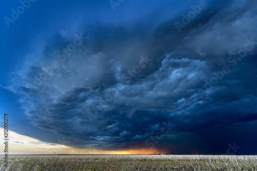 Tornado Supercell in Oklahoma Canvas Print
