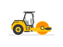 Road Roller Heavy Equipment. R...