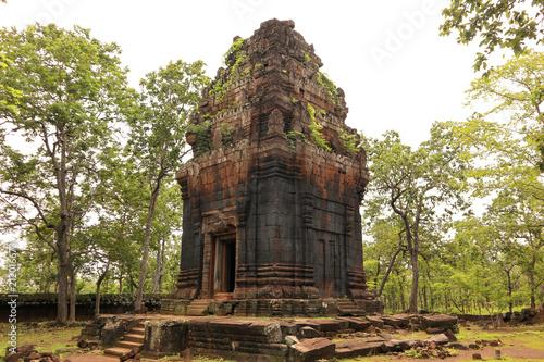 Spoed Foto op Canvas Bedehuis Koh Ker Temple, Cambodia