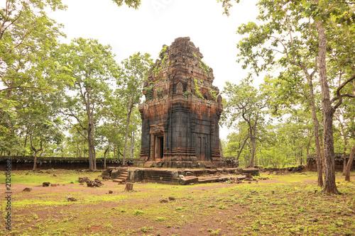 Foto op Plexiglas Bedehuis Koh Ker Temple, Cambodia