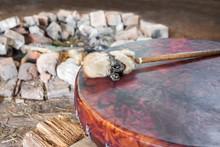 Ancient Amerindian Tambourine ...