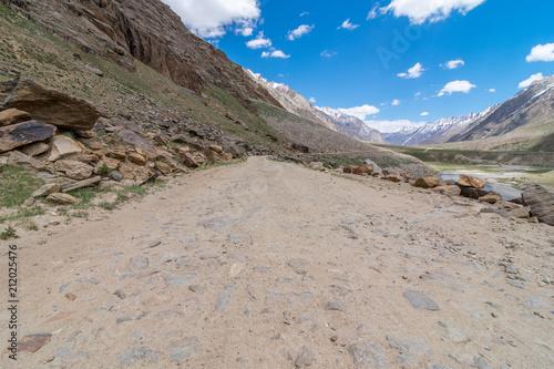 Staande foto Donkergrijs Suru Valley, Ladakh
