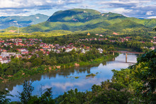 View Of Luang Prabang And Nam ...