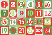 Christmas Advent Calendar Design