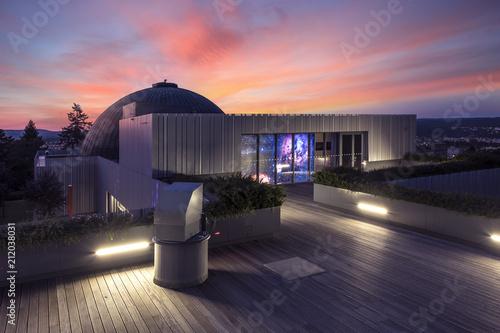 Obraz na plátně  Brno planetarium and observatory