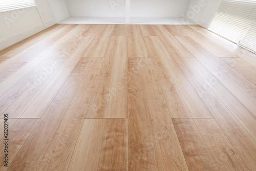 Obraz フローリングの床 - fototapety do salonu