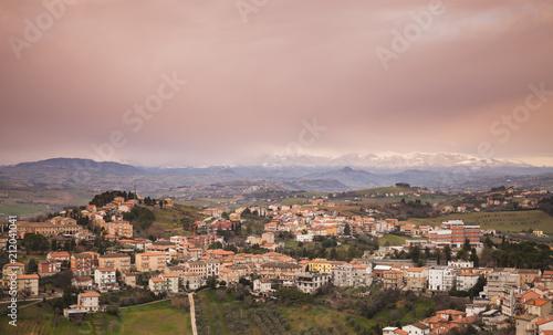 Staande foto Europa Italian countryside, rural landscape