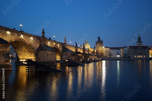 Plakat Noc w Pradze