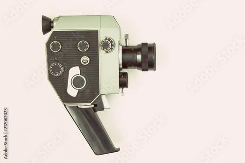 Old movie camera