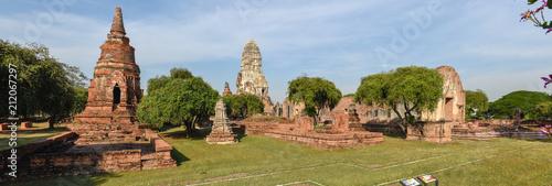Foto op Aluminium Oude gebouw Temple of Ayutthaya historical park