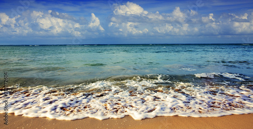 Tuinposter Centraal-Amerika Landen Caribbean sea background.