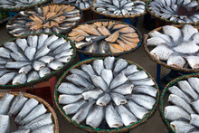 Fish Drying In The Sun For Coo...