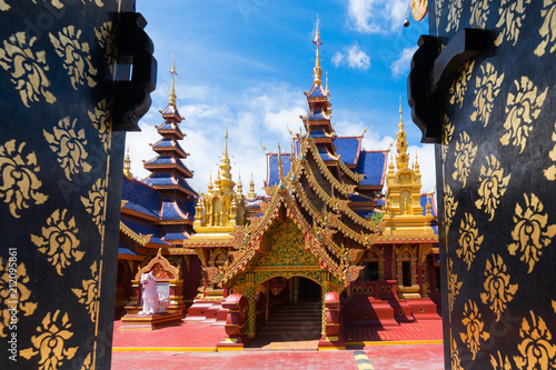 Foto op Plexiglas Bedehuis Pipatmongkol Temple, Sukhothai Thailand