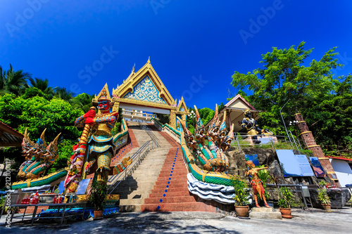 Foto op Aluminium Temple Wat Khao Rang temple at sunny morning. Phuket. Thailand