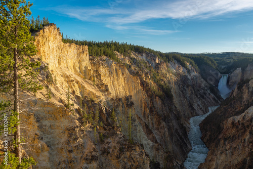 Foto op Plexiglas Canyon Grand Canyon of the Yellowstone National Park, Wyoming, USA