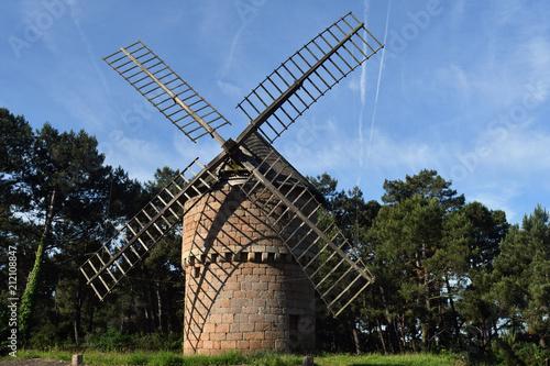 Foto op Plexiglas Molens moulin du Crac'h