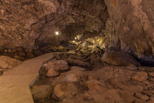 Inside The Cave Is A Stalactite Stalactite Shape Beautiful
