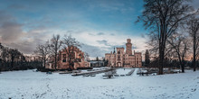Famous Czech Castle Hluboka Na...