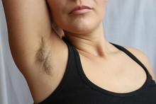 Female Hairy Armpit, Unshaved ...