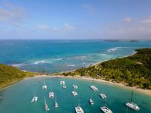 Karibik Insel Katamaran Mayreau