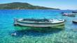 Boot im Meer - Kroatien - Mitttelmeer