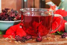 Red Karkade Hibiscus Red Sorre...