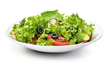 Delicious Fresh Salad Dish On ...