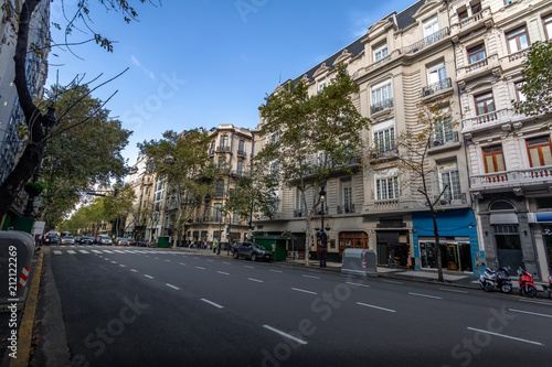 Poster Buenos Aires Avenida de Mayo - Buenos Aires, Argentina
