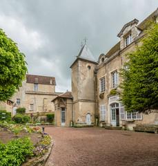 Fototapeta na wymiar Town hall in Vezelay, Burgundy, France