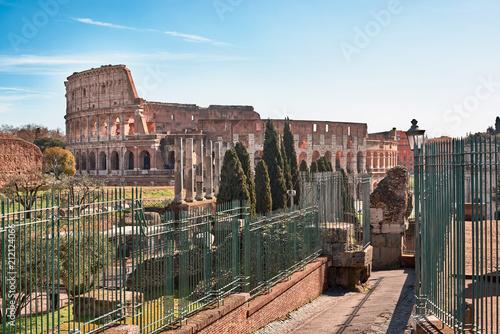 Fototapeta Rzym, Koloseum