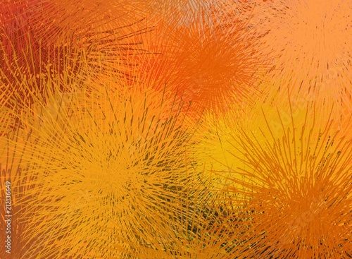 Abstract painting on canvas. Hand made art. Colorful texture. Modern artwork. Strokes of fat paint. Brushstrokes. Contemporary art. Artistic background image. #212136649