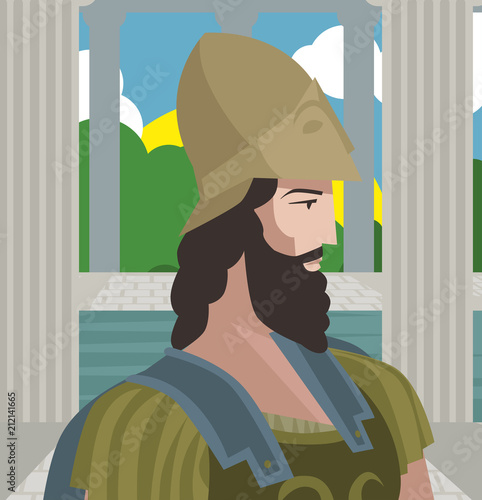 Valokuva Themistocles greek general