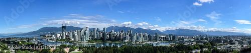 Fotografía  Vancouver Downtown Panorama