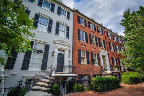Amazing Row Houses In Georgetown Washington Dc Buy This Stock Download Free Architecture Designs Boapuretrmadebymaigaardcom