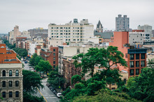 View Of Harlem From Morningside Heights, In Manhattan, New York City.