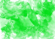 canvas print picture - Abstract green Painting Background