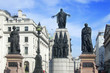 Crimean war memorial in London