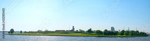 Fotografie, Obraz  Baltimore Maryland Fort McHenry National Monument and Historic Shrine Panoramic