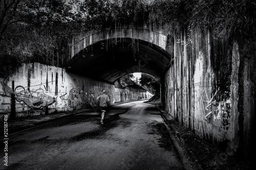 Fotografie, Obraz Tunel Sin finn