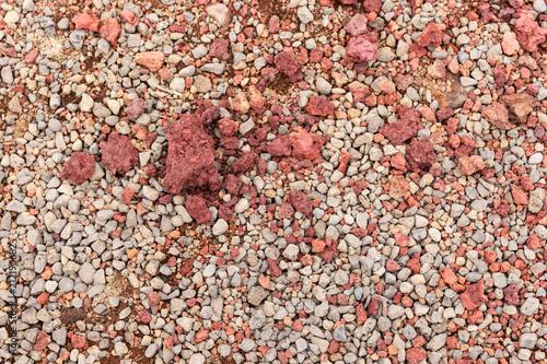 In de dag Stenen Natural ground of lava, natural background texture